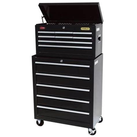 Stanley 5 Drawer Tool Chest by Stanley 13 Drawer Tool Chest And Cabinet Set C 313bs On