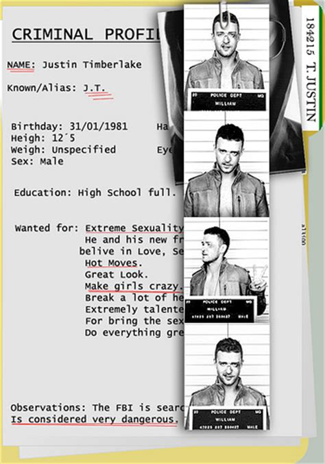 criminal profile template www pixshark com images