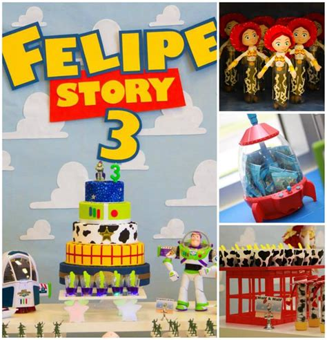 themes toy story 3 kara s party ideas toy story themed 3rd birthday party