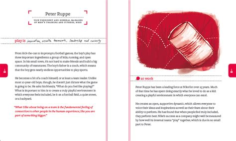 layout my book looking for inspiration try a red rubber ball book