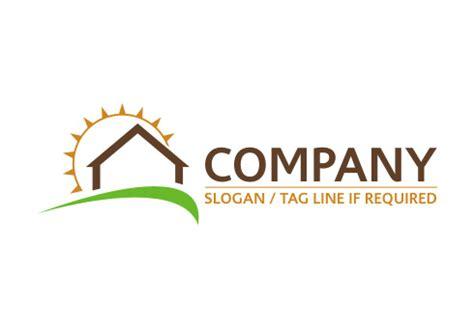 company sun ready made real estate logos