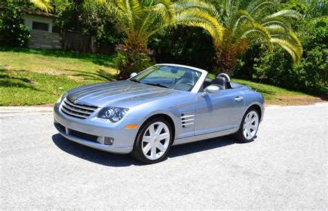 2005 Chrysler Crossfire For Sale by 2005 Chrysler Crossfire Roadster For Sale 98686 Mcg