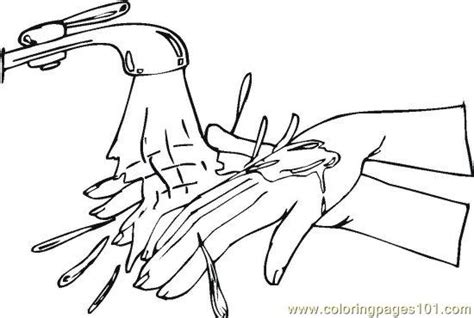 coloring pages personal hygiene free coloring pages of personal hygiene