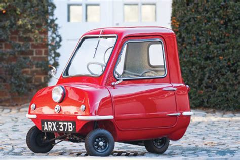 tiny car huge pricetag peel p sells    auction auto express