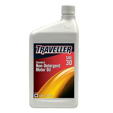 non detergent motor traveller non detergent sae 30 1 qt at tractor