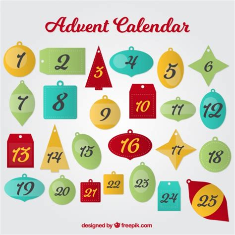 advent calendar ornaments advent calendar of ornaments vector free