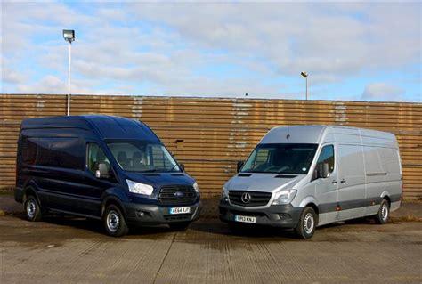 mercedes of fort mercedes sprinter v ford transit clash of the