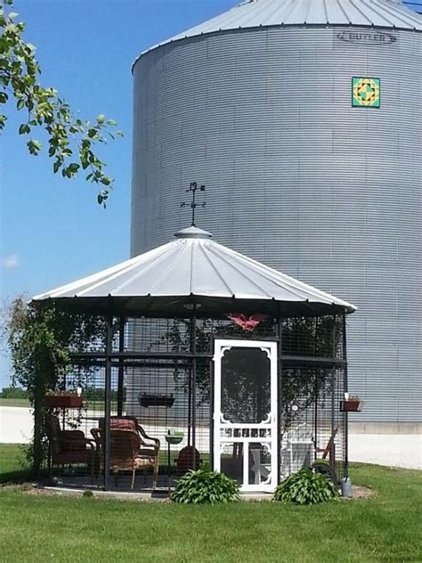 Metal Corn Crib For Sale by Our Corn Crib Gazebo Is A Great Place We Relax In