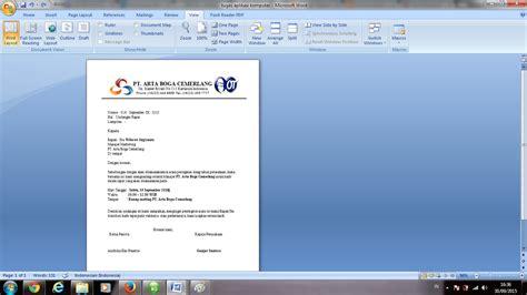 cara membuat kop surat yang cantik tugas aplikasi komputer cara membuat surat undangan mudah