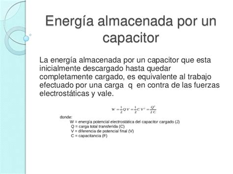 que es un capacitor formula capacitadores en serie y en paralelo