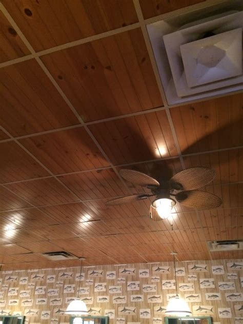 drop ceiling runners using ripped paneling very cool i