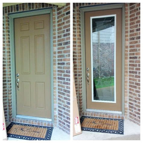 64 Best Images About Door Remodel On Pinterest Discover Adding Glass To Front Door