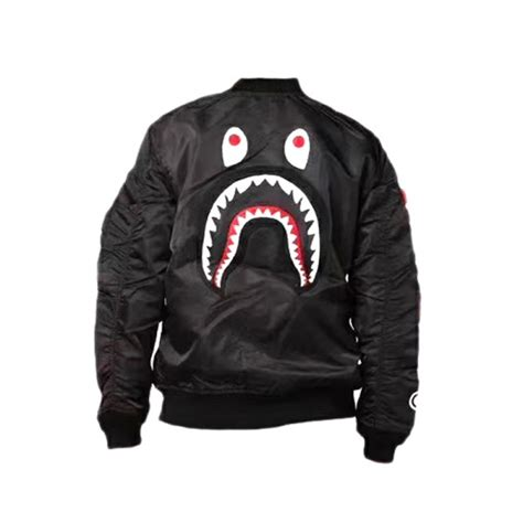 Jaket A Bathing Ape Bape Shark Black Wash new a bathing ape bape shark jacket buy a bathing ape