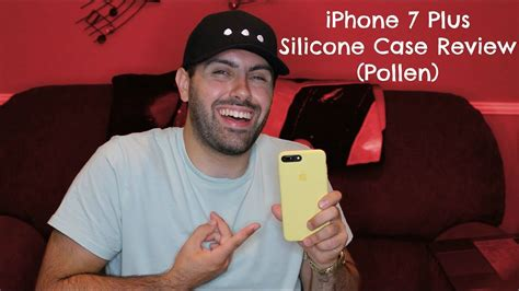 apple iphone 7 plus silicone review yellow pollen