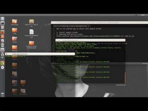tutorial expect linux how to install android app on ubuntu or linux what did