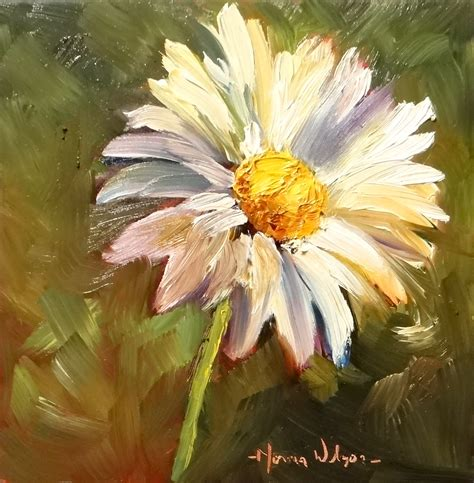 paintings of flowers norma wilson art daisy delight floral still life painting