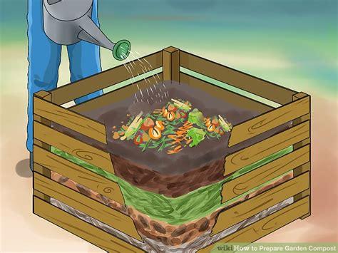 3 ways to prepare garden compost wikihow