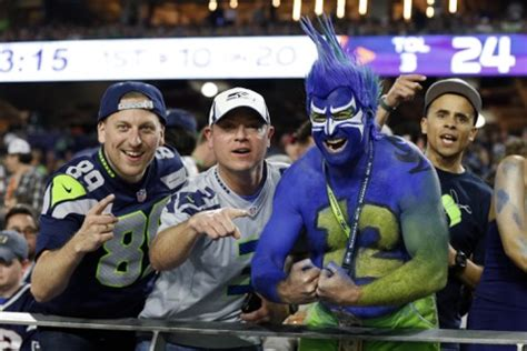 seattle seahawks fan what do we think about seahawks fans total packers