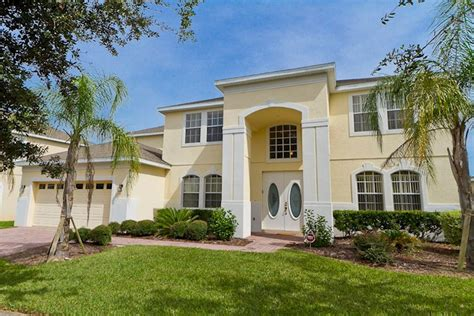 7 bedroom vacation homes in orlando 7 bedroom 4500 sq ft orlando vacation villa on highlands