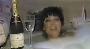 singing in the bathtub lyrics kris jenner video embarrassing video emerges of a singing