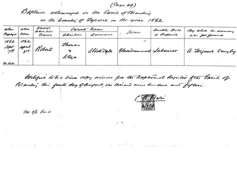 Church Records Ireland Births Official Website Of The County Tyrone Ireland Genealogy Research