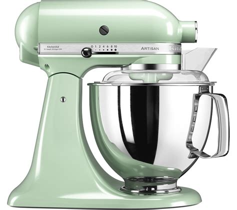 kitchen aid stand mixer buy kitchenaid artisan 5ksm175bpt stand mixer pistachio free delivery currys