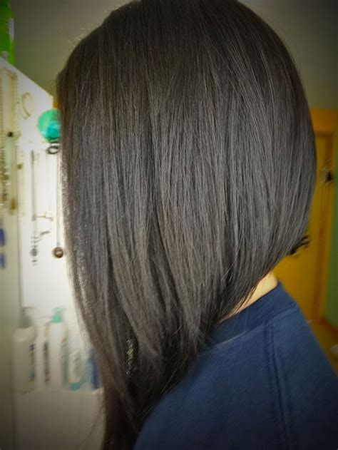 short aline bob back view hairstyles pinterest aline medium length inverted bob back view short hairstyles i