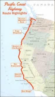 us west coast driving map 17 best ideas about west coast road trip on