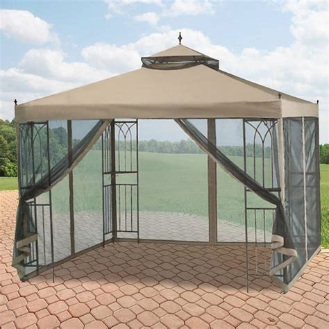 gazebo walmart garden winds replacement canopy for gazebos sold at
