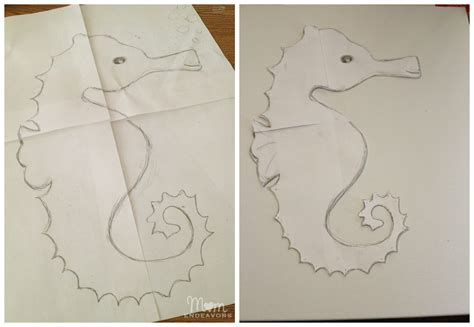 How To Make A Seahorse Out Of Paper - how to make a seahorse out of paper 28 images origami