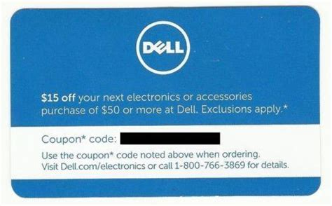 Sell Dell Promo Gift Card - dell coupon ebay