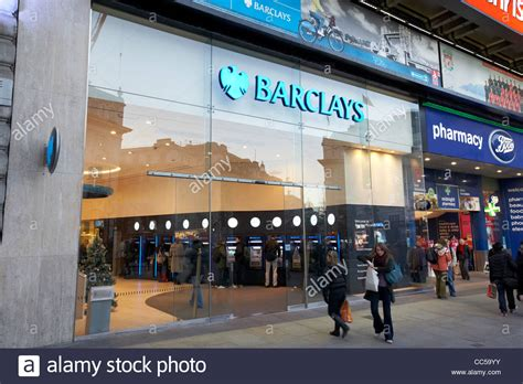 berclays bank branch of barclays bank in piccadilly circus central