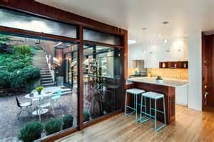 Homes With Interior Courtyards by Very Vibrant Fun And Playful Family Home Is A Perfect