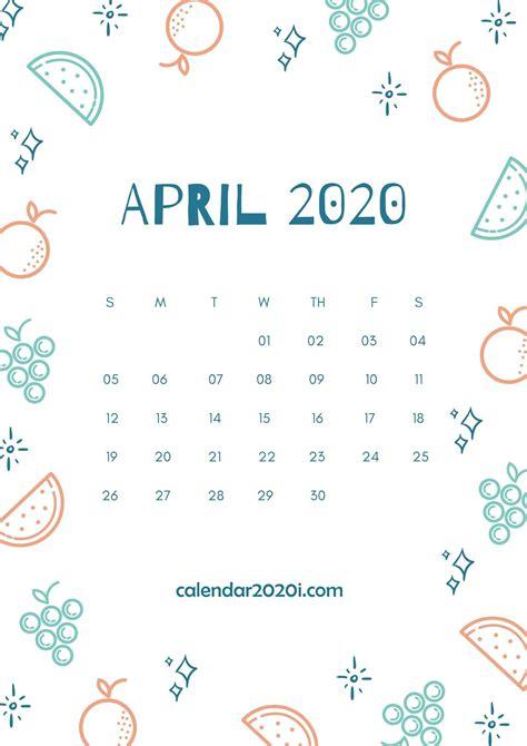 april  calendar wallpapers  wallpapersafari