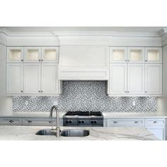 tile white venatino linear mosaic marble wall tile greecian white 12 in x 12 in polished beveled marble