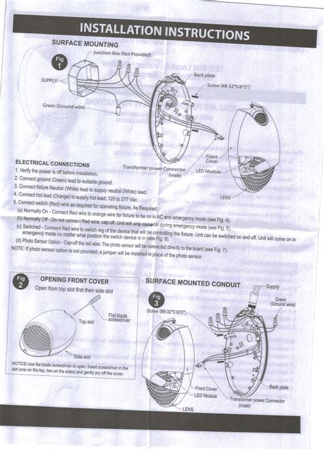 globalux led emergency light wiring diagram wiring