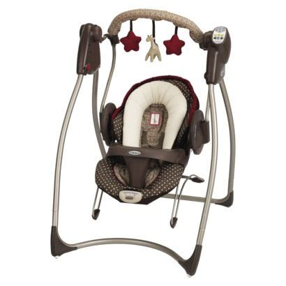 graco baby doll swing graco duo 2 in 1 swing bouncer starburst brown all