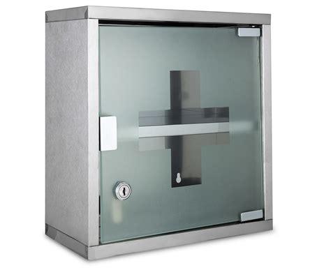 lockable medicine cabinet mileno 30x30x12cm lockable wall mounted medicine cabinet silver ebay