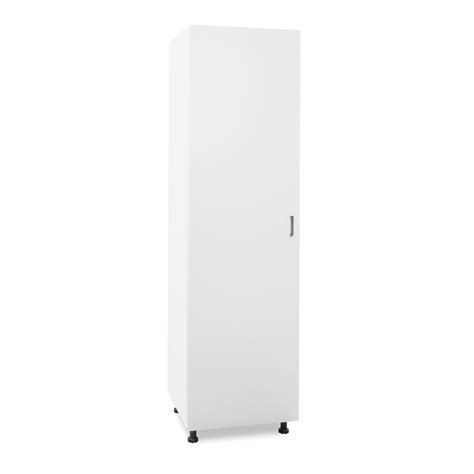 flatpax kitset 450mm utility pantry cupboard 1 door white