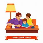 family-reading-together