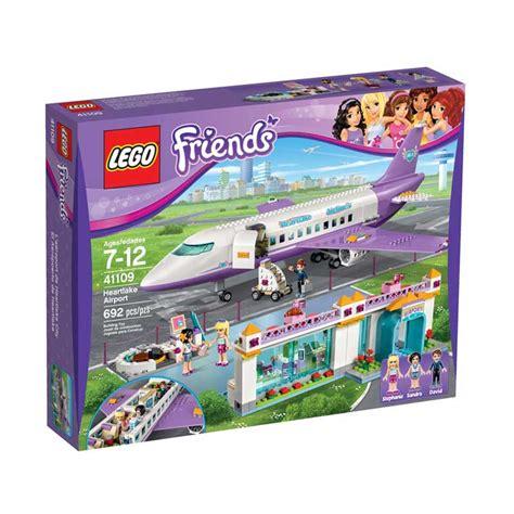 Produk Terlaris Mainan Lego Brick Friends Isi 199 Pcs jual lego sands lego 41109 friends heartlake city airport mainan blok puzzle harga