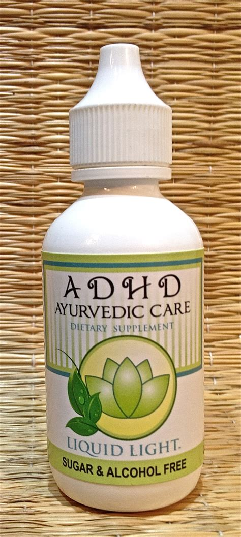 Herbal Adha adhd ayurvedic care supports strong calm mental and emotional responses adhd