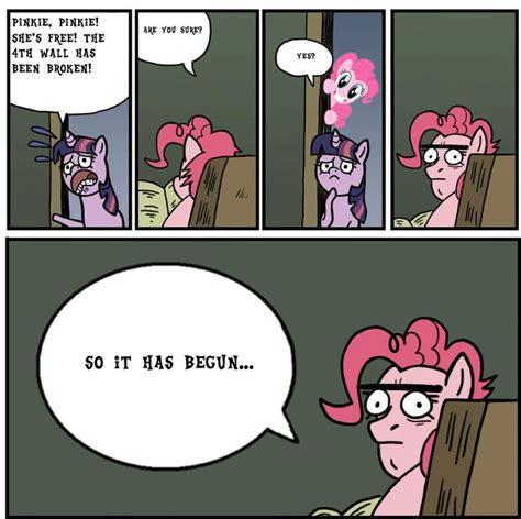 Pinkie Pie Meme - image 321359 pinkie pie breaking the 4th wall know
