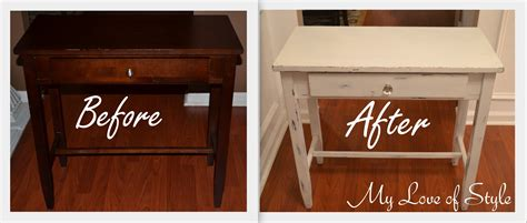 how to paint and distress furniture shabby chic diy shabby chic table distressing tutorial my of