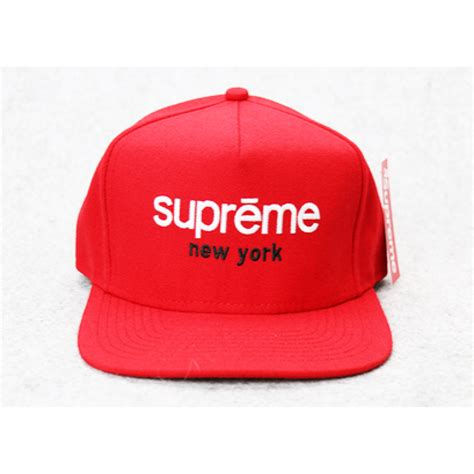 supreme hat supreme ny box panel snapback hat