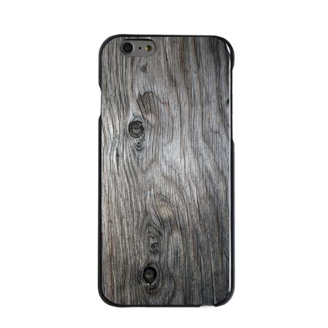 Wood Phone Iphone 5 Custom custom cover for iphone 5 5s 6 6s plus grey weathered wood grain ebay