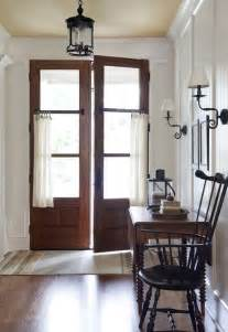 Curtains For Entrance Door Cafe Curtains Doors Make An Entrance Entry Ways The Doors And Doors