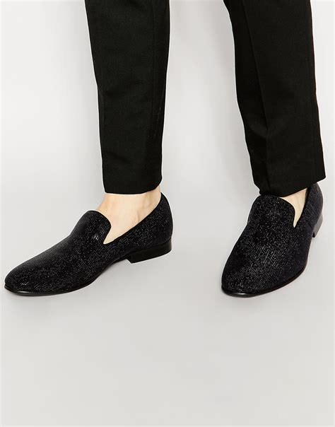 aldo slippers for lyst aldo migorien dress slippers in black for