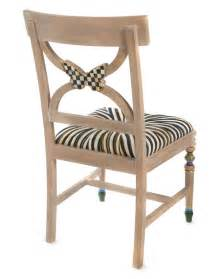 mackenzie childs butterfly dining chair