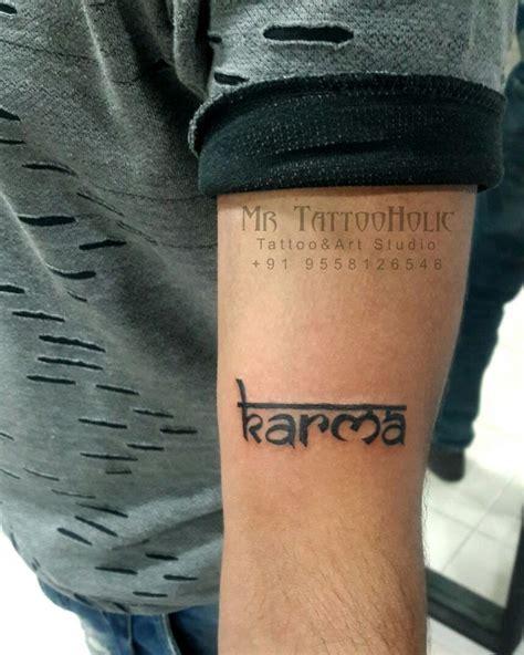 tattoo fonts karma best 25 karma tattoos ideas on karma